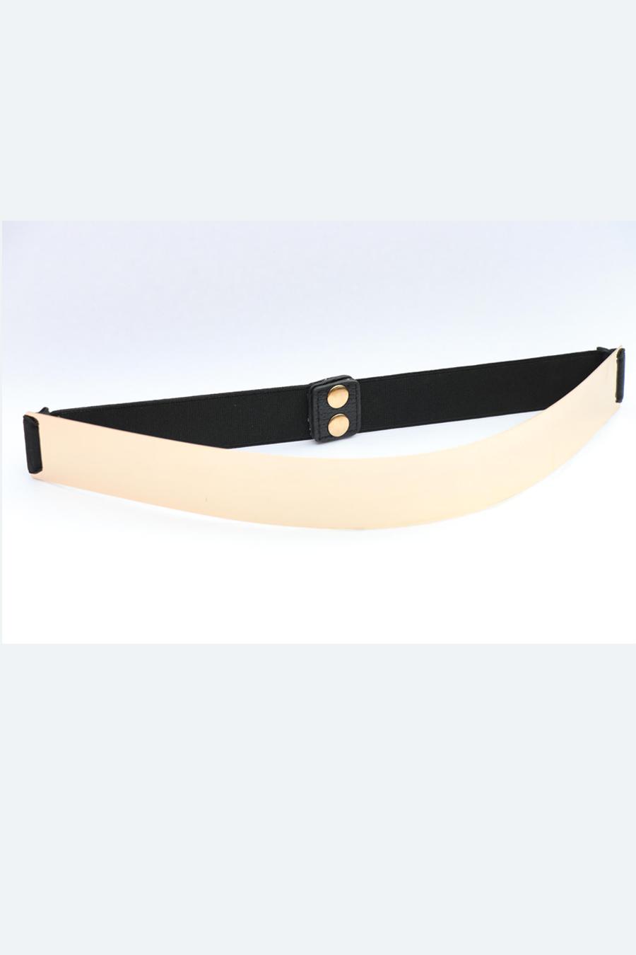 Black Metallic Belt