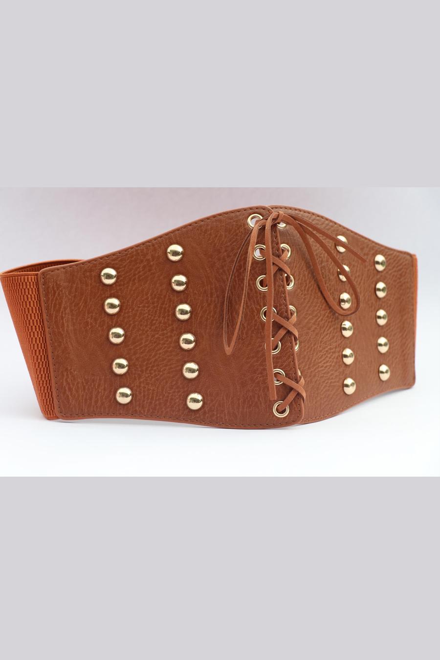 Tan Corset Belt