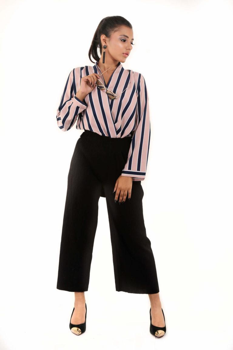 Stripe Tease Shirt