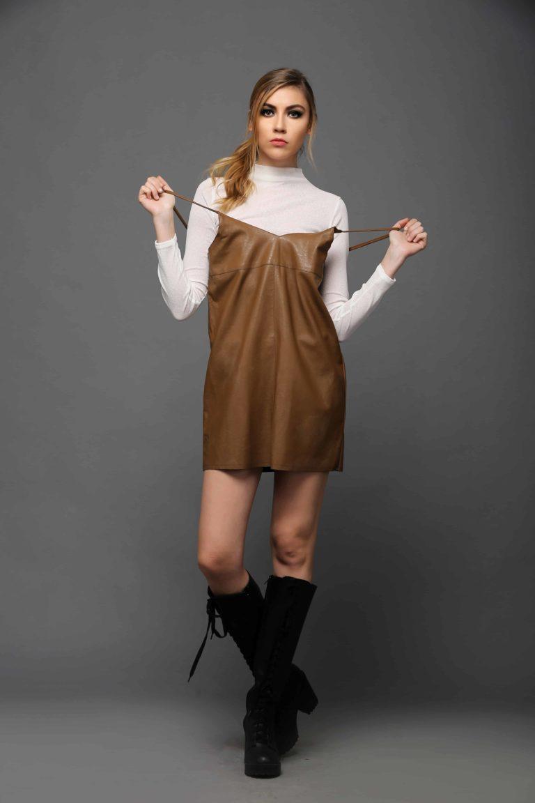 Faux Slip Dress