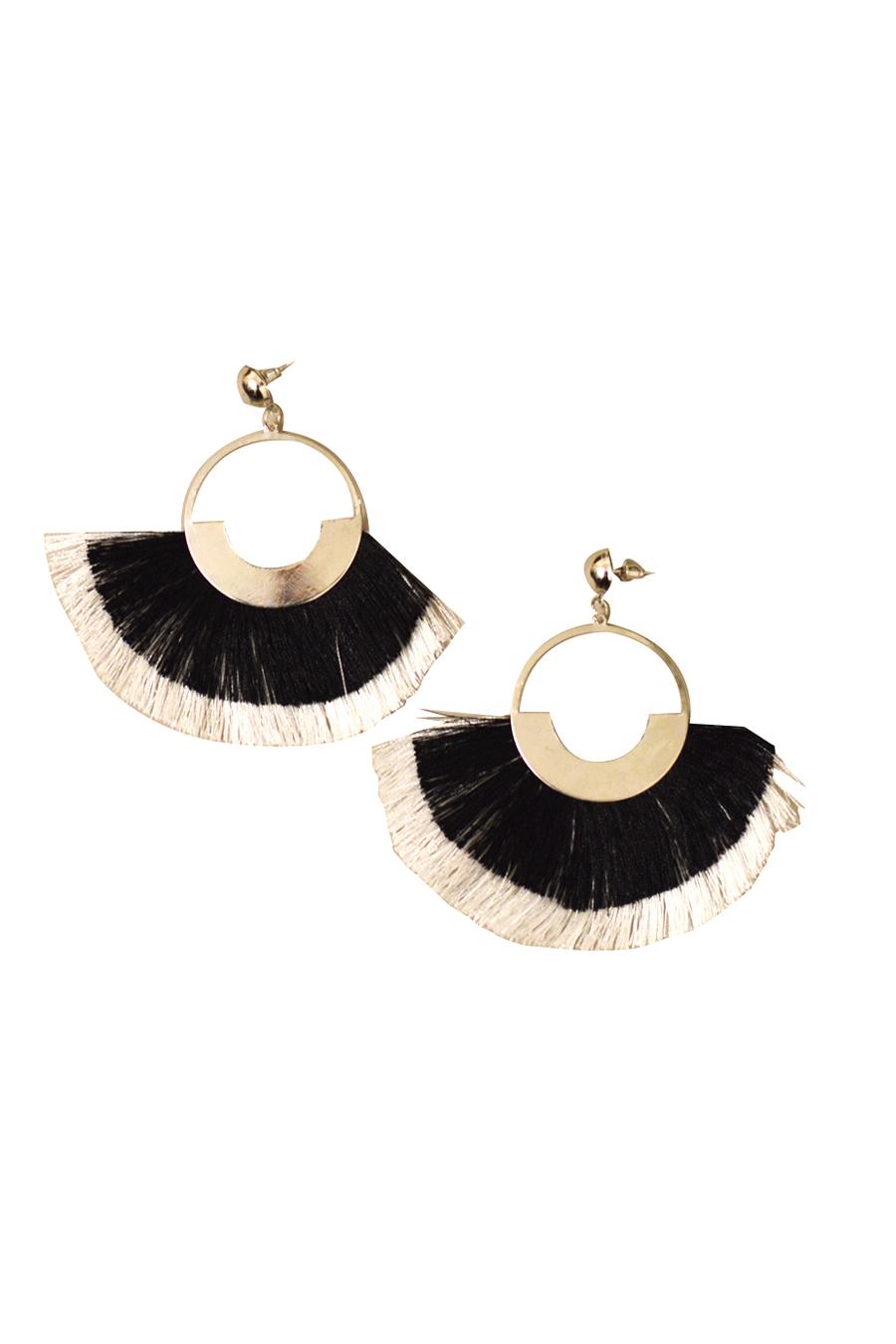 Contemporary Drop Earrings