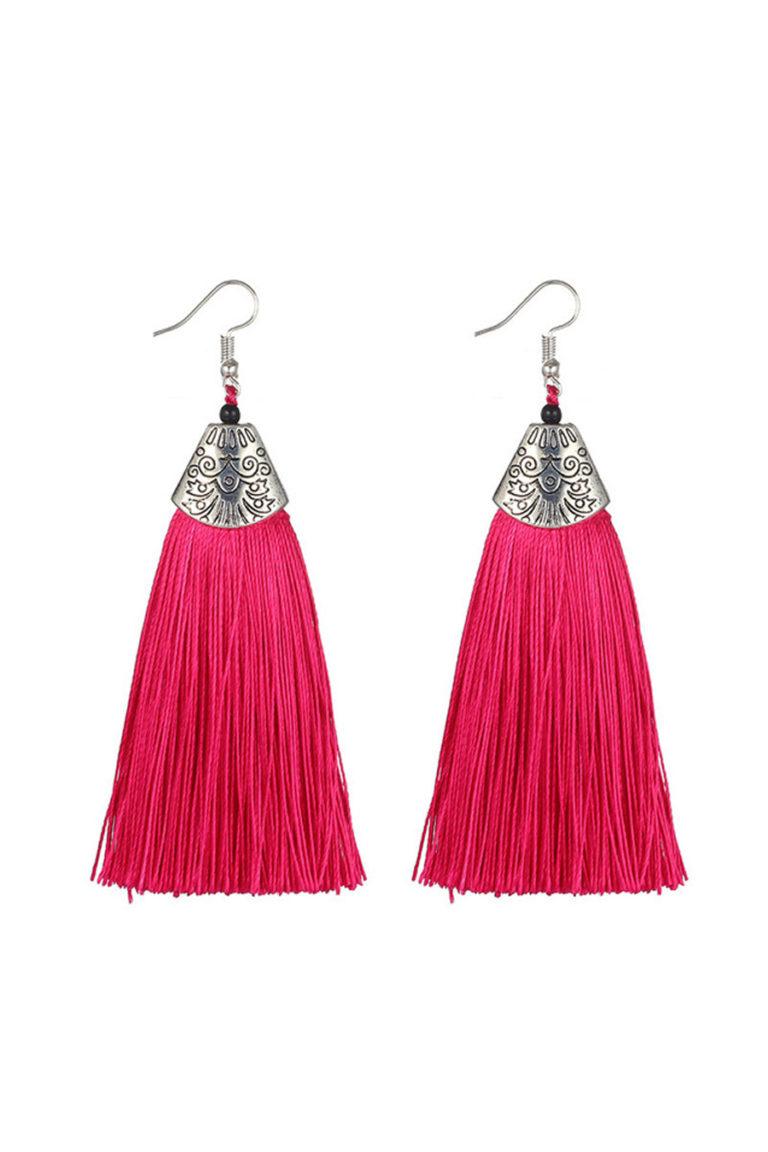Dazzling Pink Earring