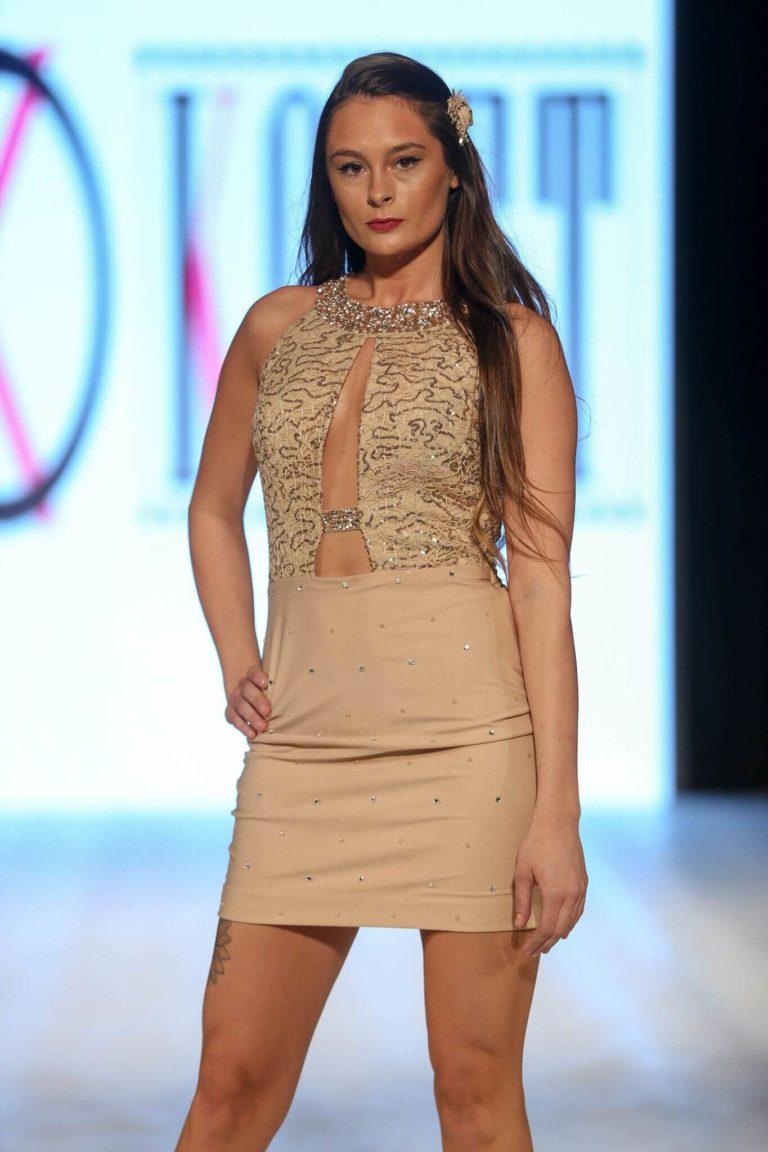 Stylish Halter Lacy Dress