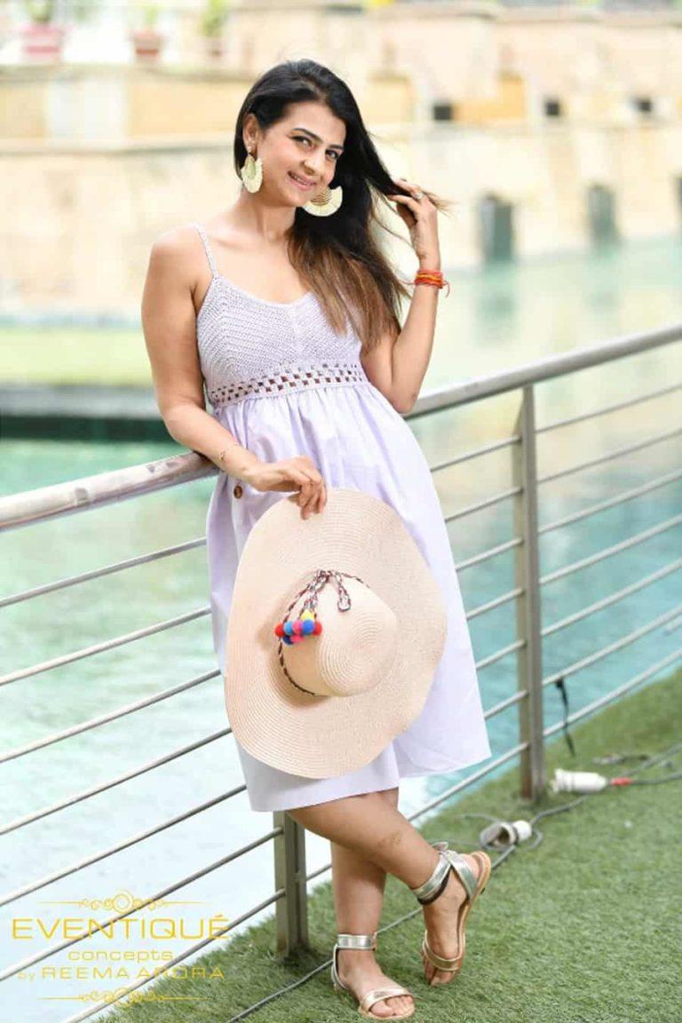 Lilac Crosia Dress