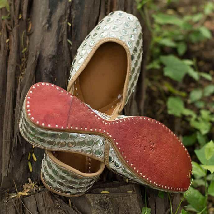PADUKII 05 Hand Crafted Leather Mojri