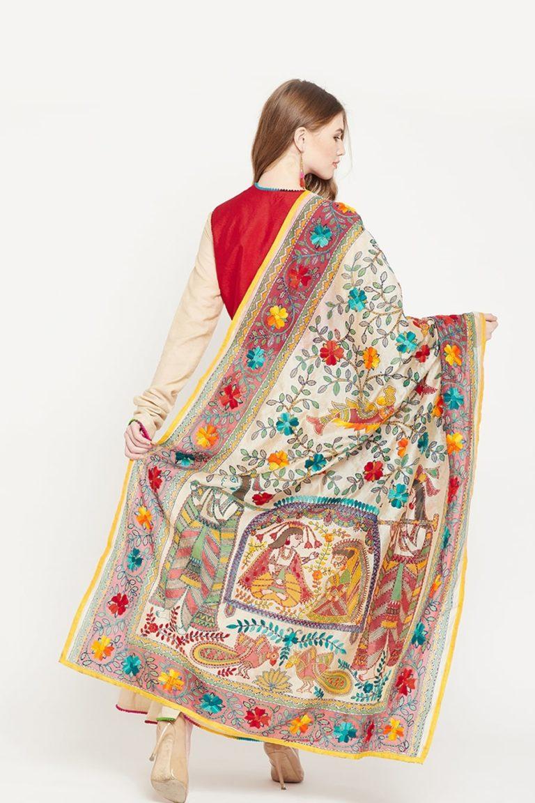 Madhubani Anarkali Suit