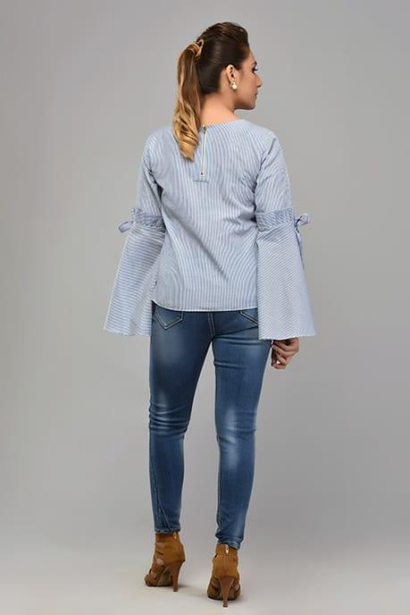SAI 27 Blue Stripes Shirt