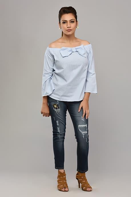 Strechable Dark Blue Jeans