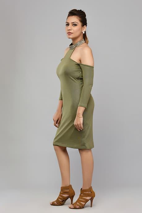 SAI 39 Military Green - High Brand Dress