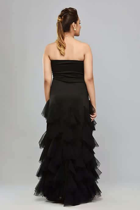 SAI 46 Black Gown
