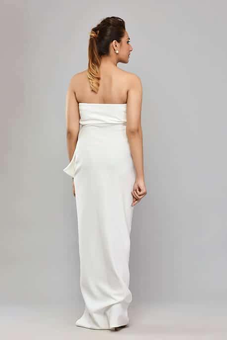 SAI 48 White Neoprene Gown