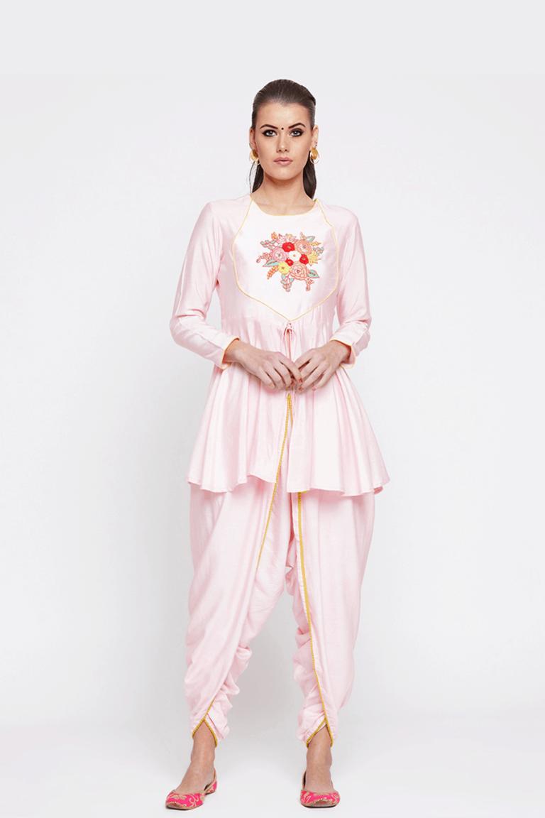 Short Angrakha Suit