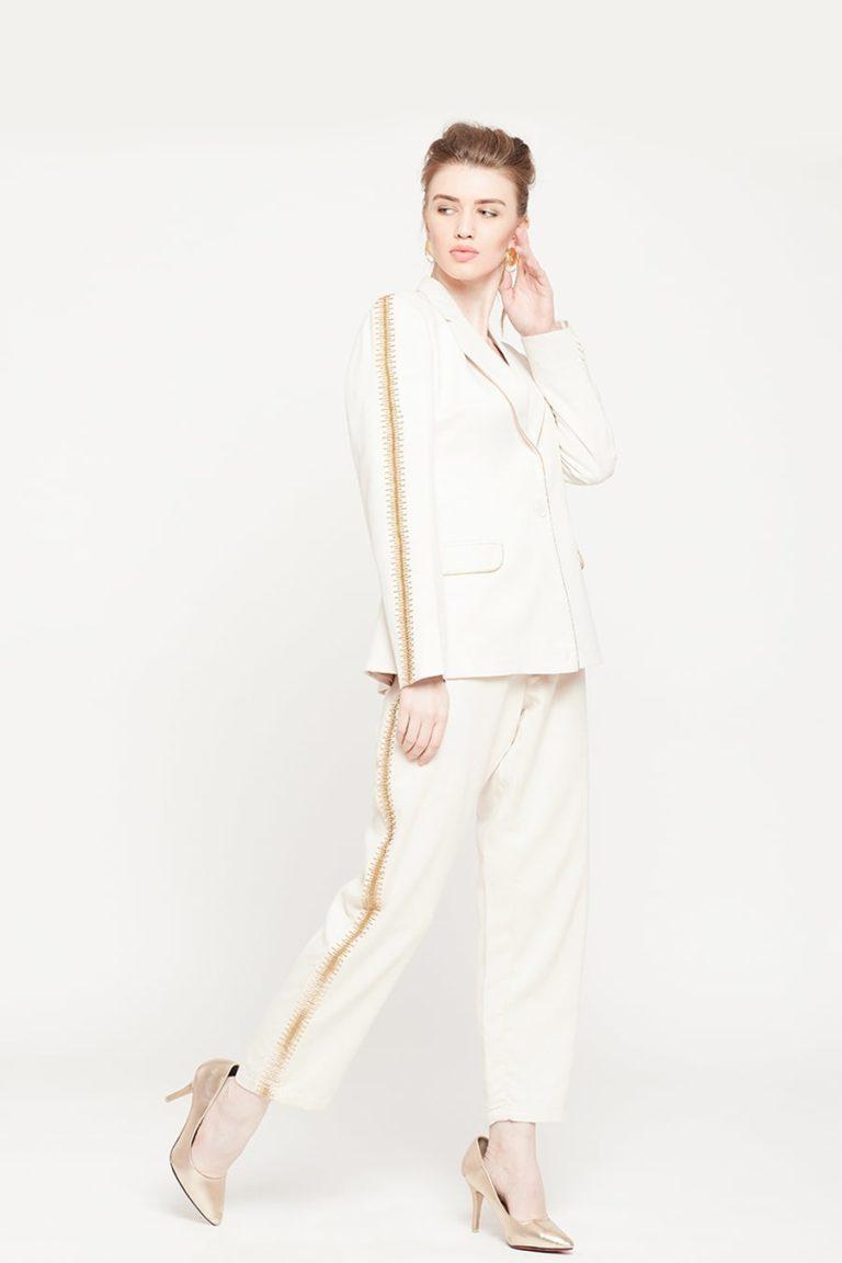 Sassy Ivory Blazer