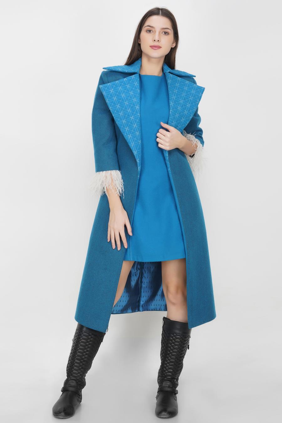 Long Jacket and Dress Duo