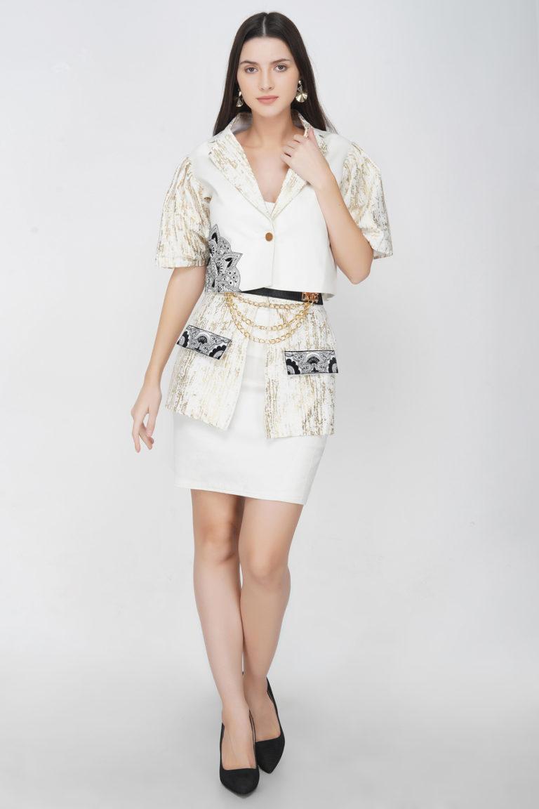Buy Jacket Skirt Set for Women