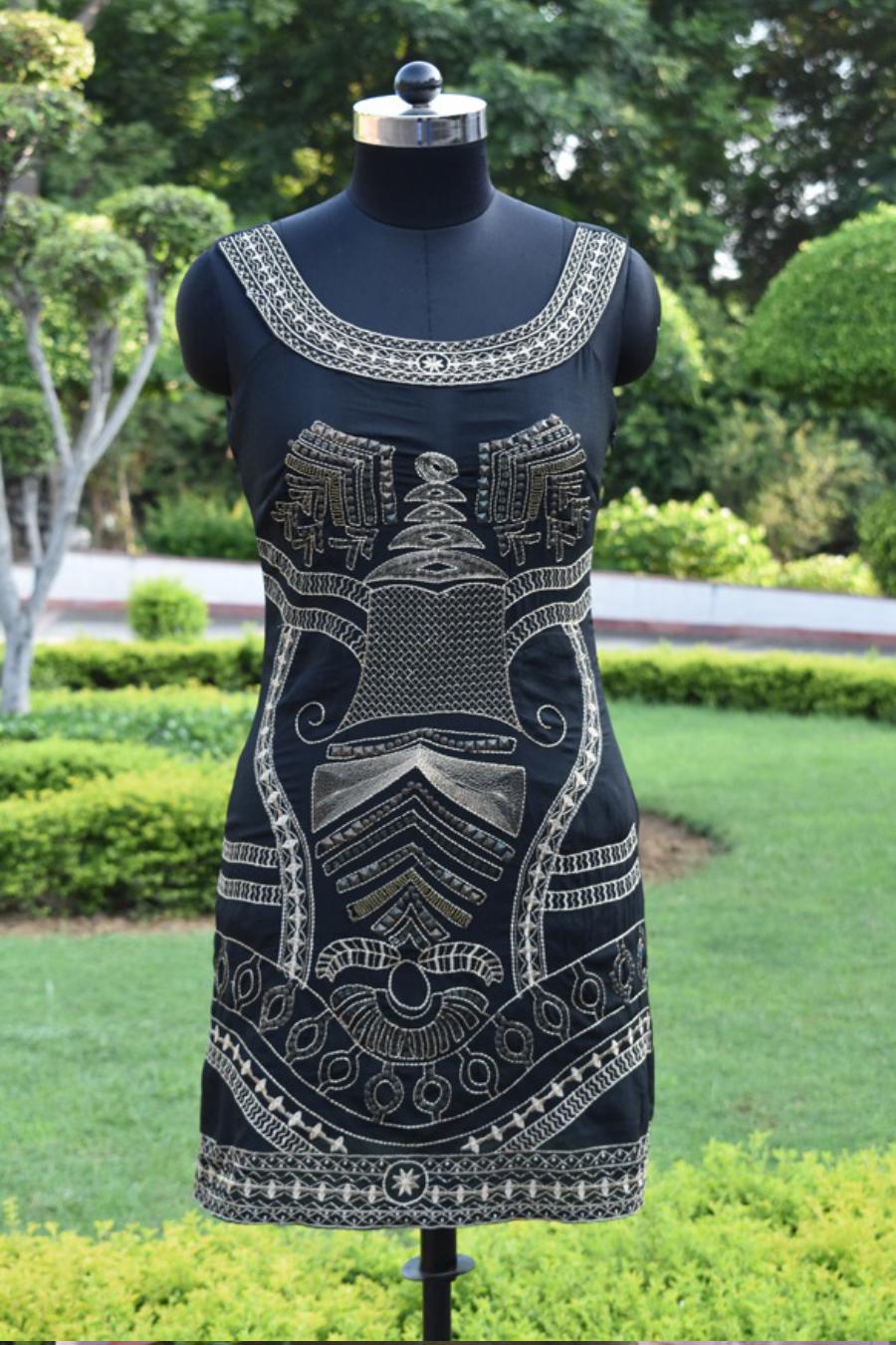 Halter Black Fit Dress