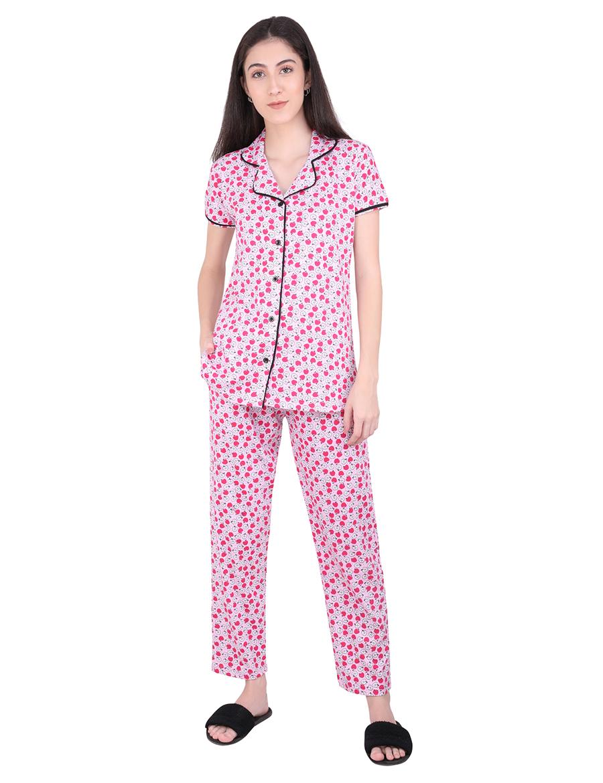 Apple Pajama Night Suit Set