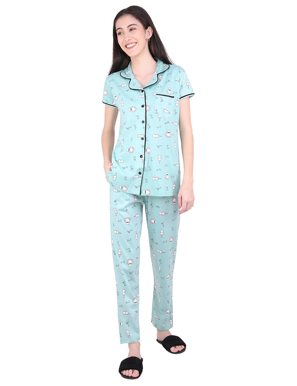 Ice-Cream Pajama Night Suit Set