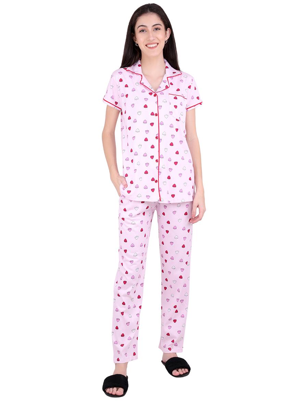 Strawberry Pajama Night Suit Set