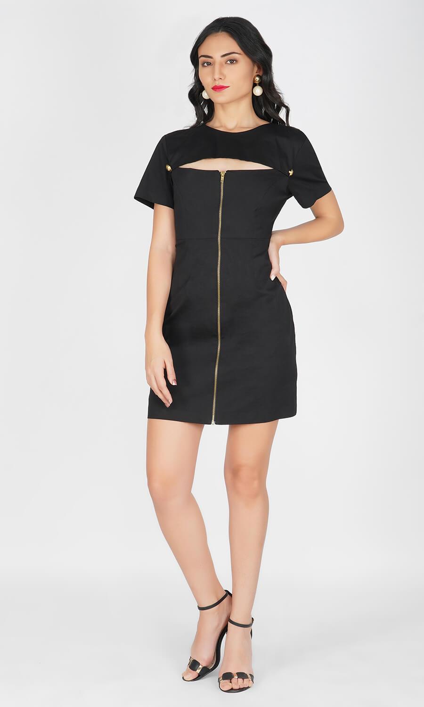 Kovet Front Zip Dress